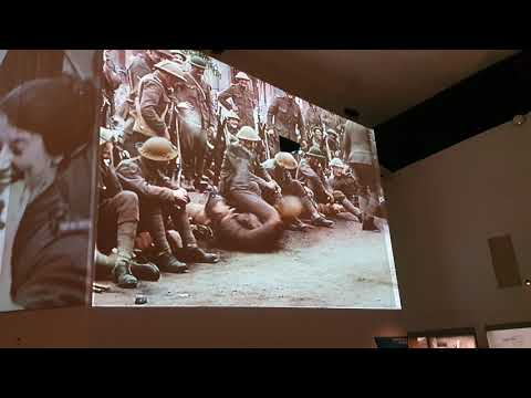 Video exhibit: soldiers' share their experiences of the Second World War